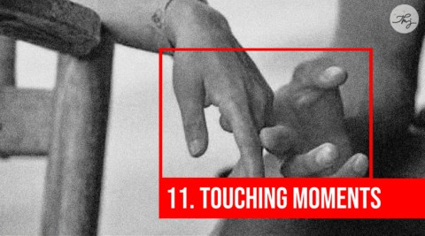 touching moments
