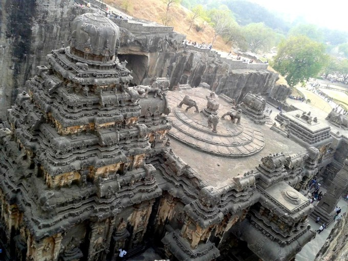 Kailasa temple top
