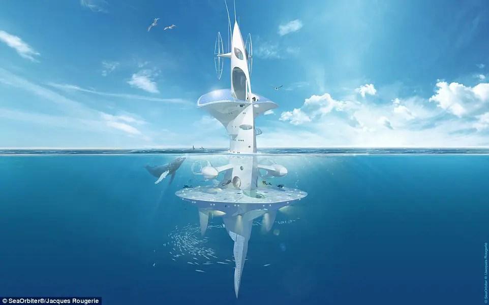 floating city seaorbiter