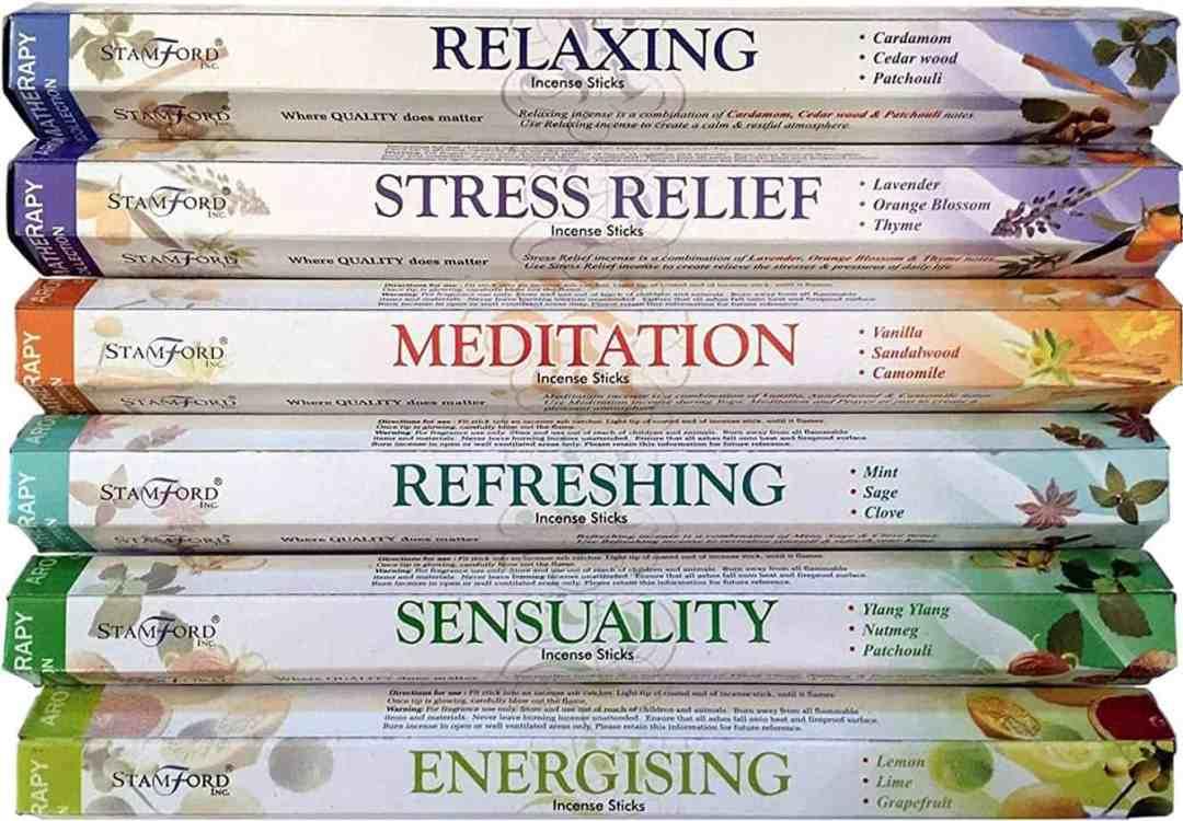 Aromatherapy Hex Range Incense Sticks