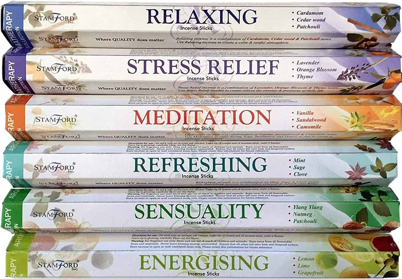 Aromatherapy Hex Range Incense Sticks
