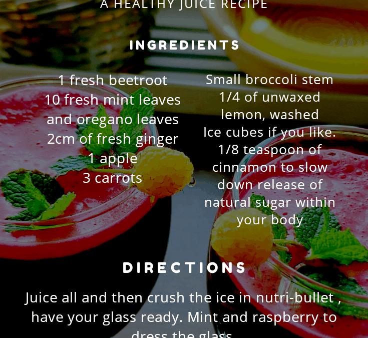 Energising Beetroot Juice