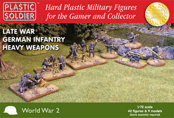 1:72nd Late War German Heavy Weapons