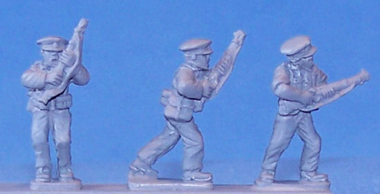 SCW Assault Guards, Advancing