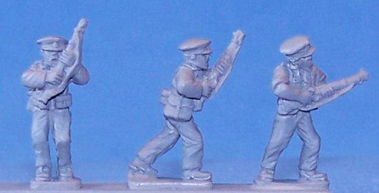SCW Assault Guards, Advancing