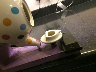 reusing a teapot