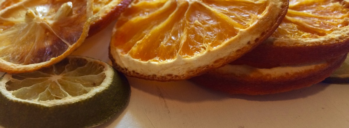 how to dry limes, lemons and grapefruit