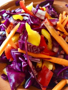 An easy recipe for creamy coleslaw the homemade way!
