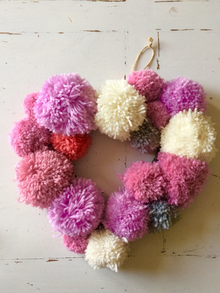 easy to make DIY wreath for a baby shower gift