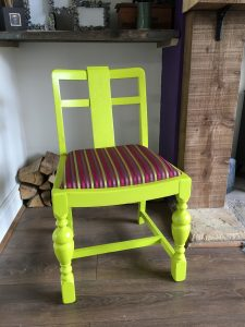 reupholster dining chair