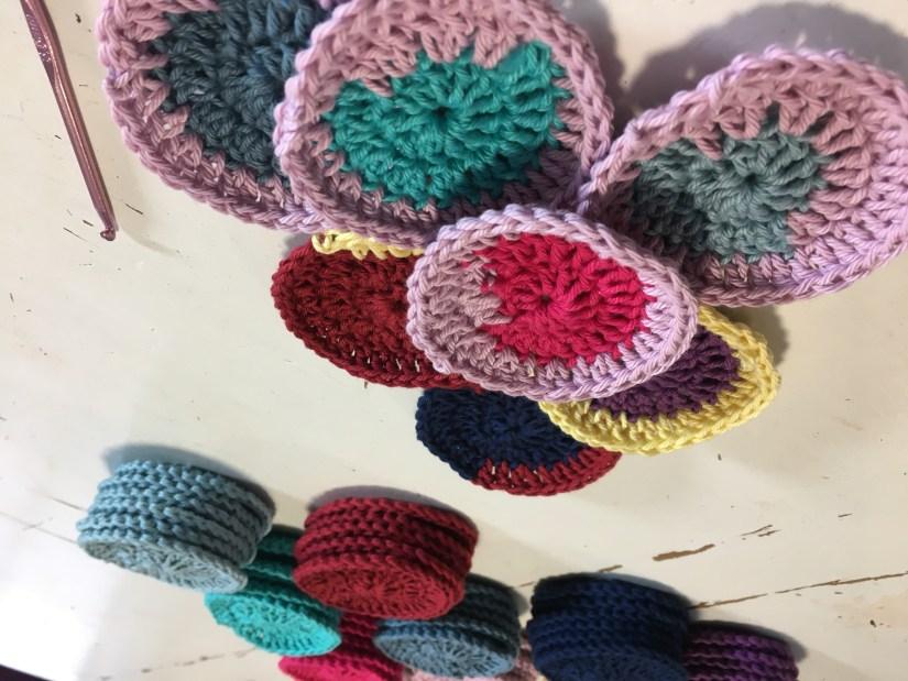 crochet face wipes