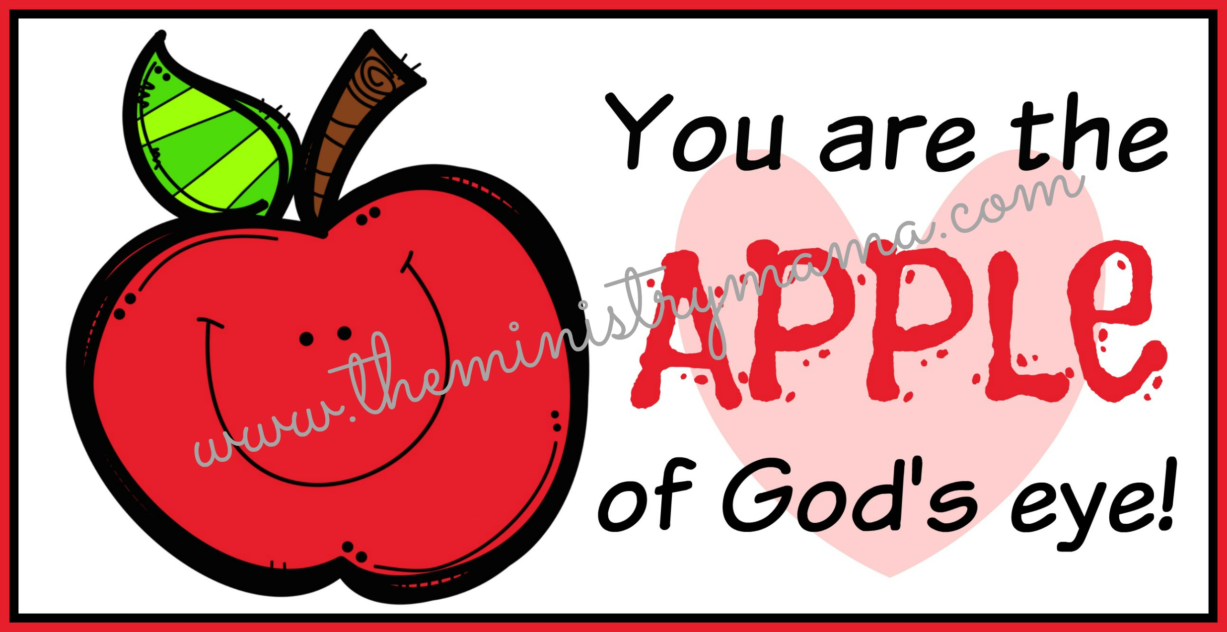 Free Christian Valentine Printables The Ministry Mama