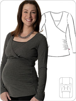 The Mint Chip Mama: Pregnant Woman Wearing a Glamourmom Tank
