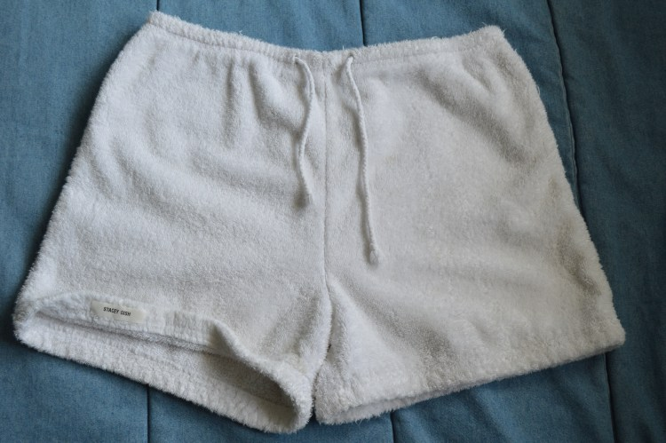 The Mint Chip Mama Long Island Mom Blog: Mabels Labels Terry cloth shorts