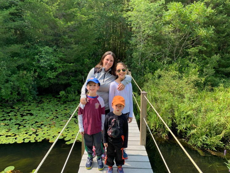 Family Hikes on Long Island - The Mint Chip Mama - Cranberry Bog Nature Preserve