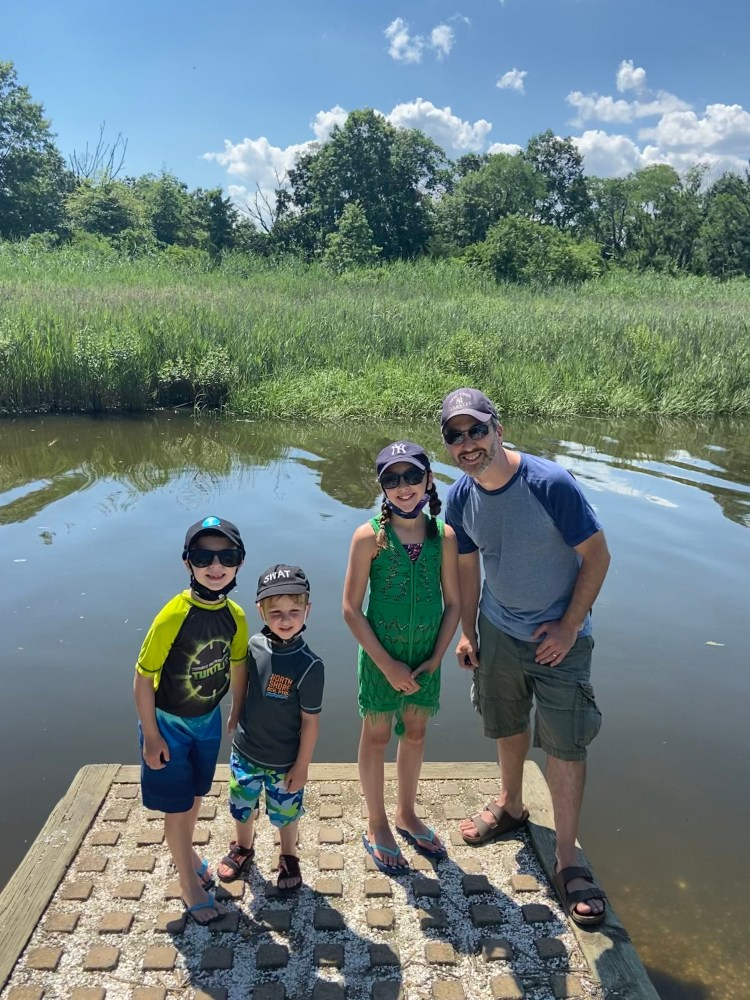 Family Hikes on Long Island - The Mint Chip Mama - Norman J. Levy Park & Preserve