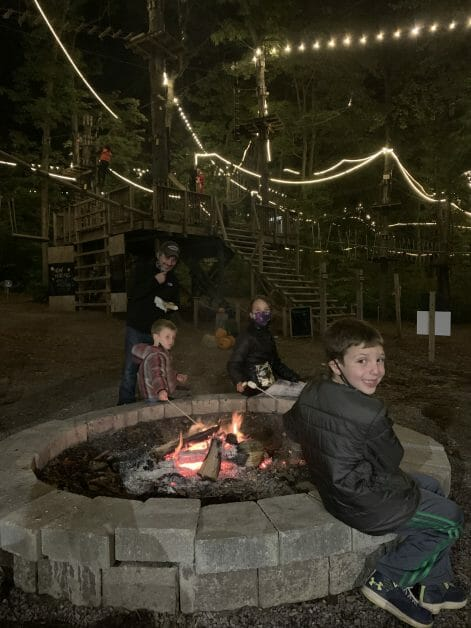 Fire Pit Friday's at Adventure Park Long Island