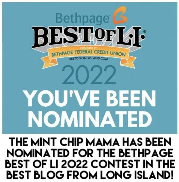 The Mint Chip Mama Best of LI Nomination
