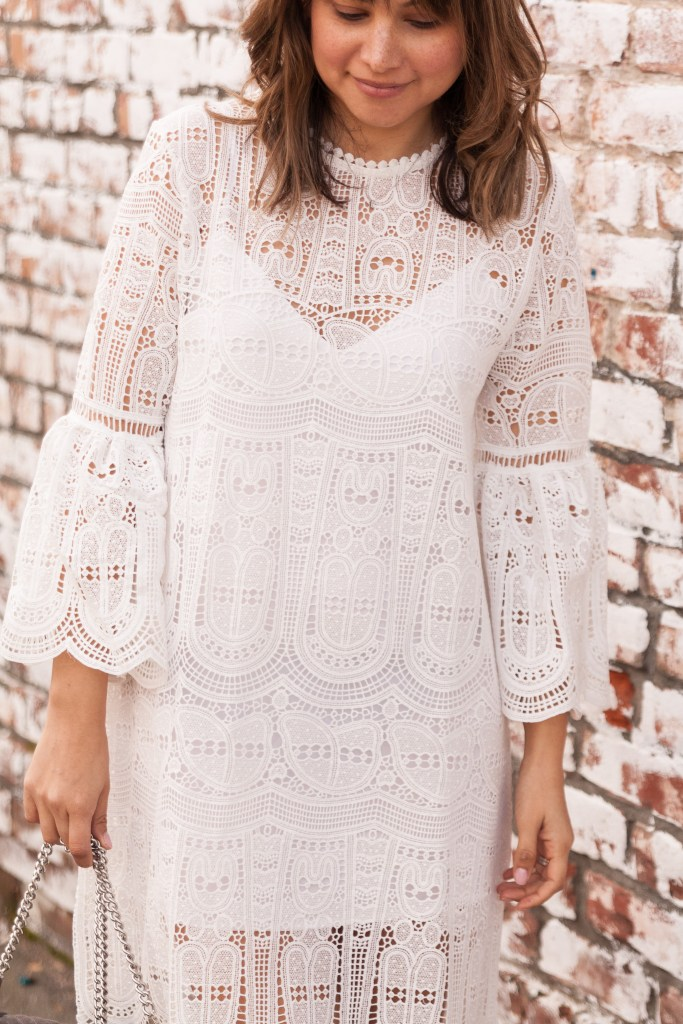 lace dress, spring dress, valentines dress, white dress