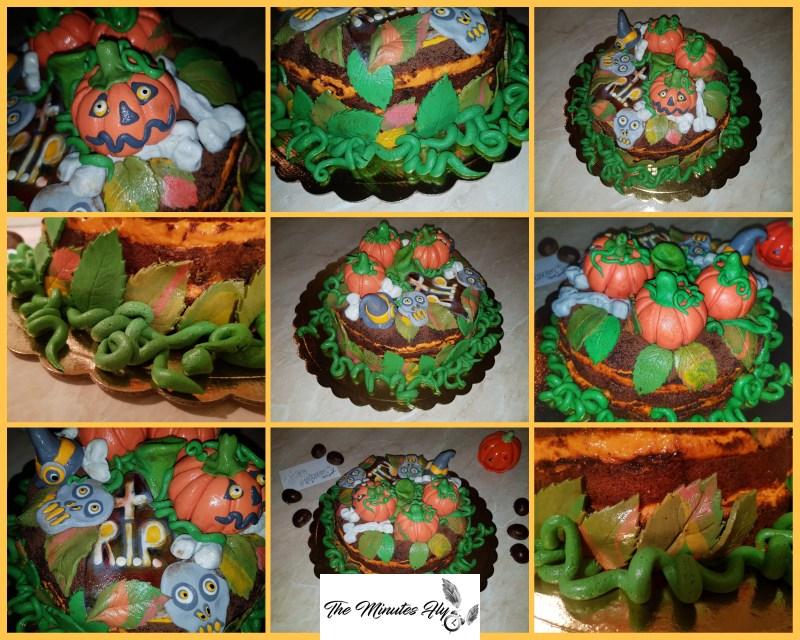 zuccamisù il tiramisù di halloween - food - torta di zucca e gocce di cioccolato fondente - the minutes fly - coppola nadia - fatinasweet