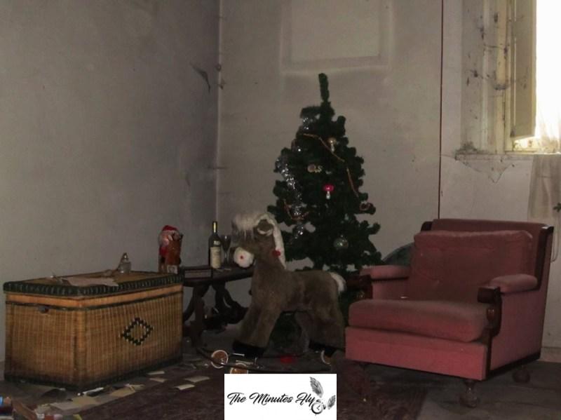 i fantasmi dell'ultimo natale - le storie degli urbexer - la villa dell'artista che non ama ricevere visite - the minutes fly