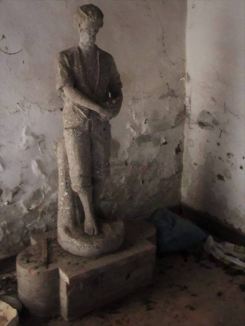 il rifugio dell'artista - urbex - osso di seppia - the minutes fly - web magazine