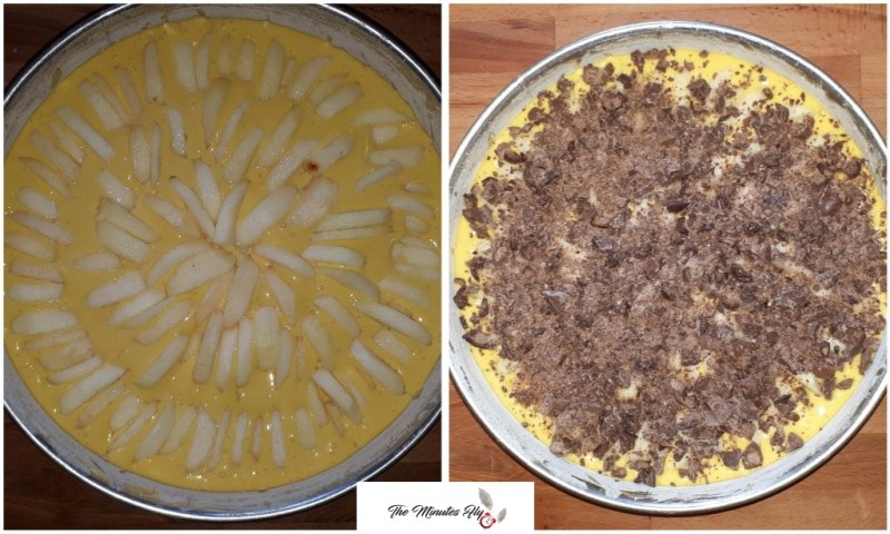 torta di mele e cioccolato - food - The Minutes Fly