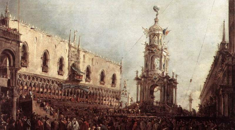 Francesco-Guardi-Carnevale Venezia