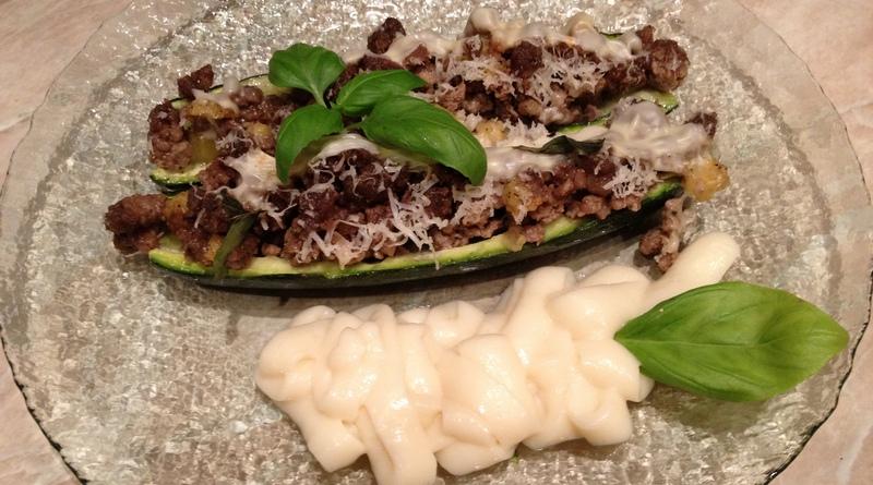 zucchine con basilico e besciamella