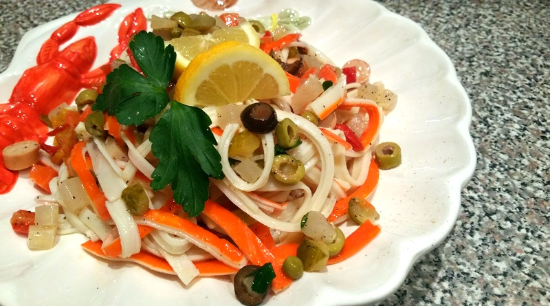 insalata di granchio - the minutes fly - web magazine
