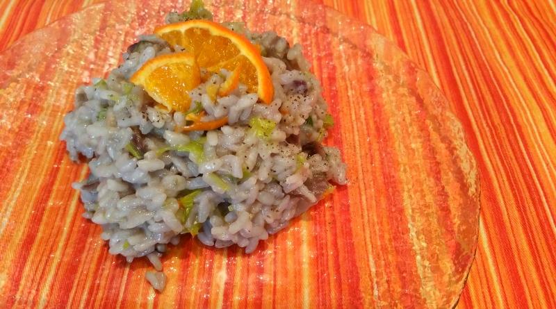 risotto profumo di arancia - the minutes fly - web magazine