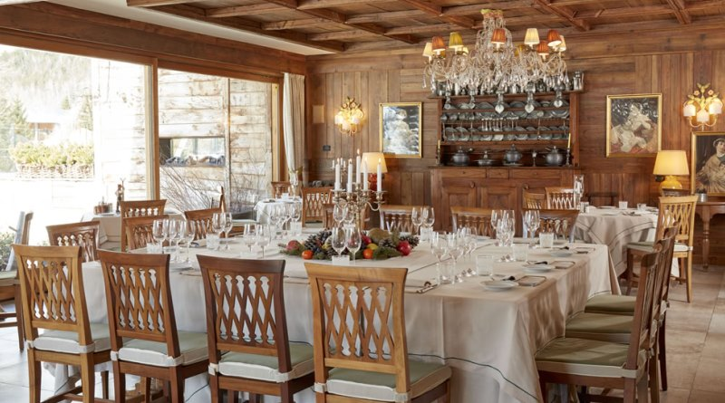 courmayeur - hotel auberge de la maison - ristorante - the minutes fly