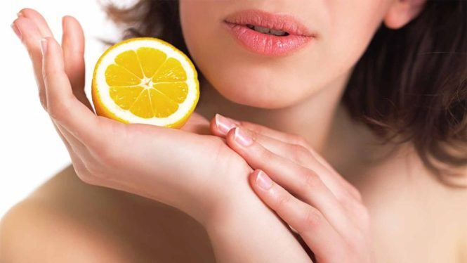 Lemon for hands and feet