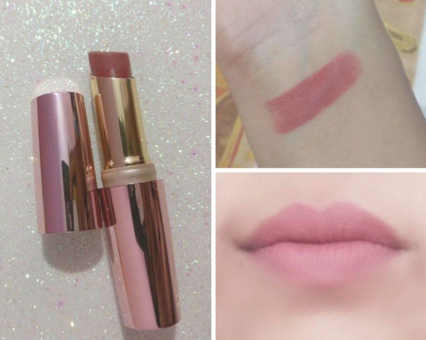 b36e8348abc Lakme 9 to 5 Primer + Matte Lip Color Rosy Sunday MP7 Review - The ...