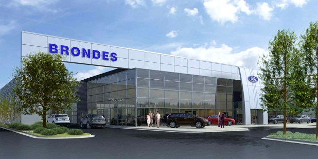 Brondes Ford Lincoln Dealership In Maumee Building New Showroom In