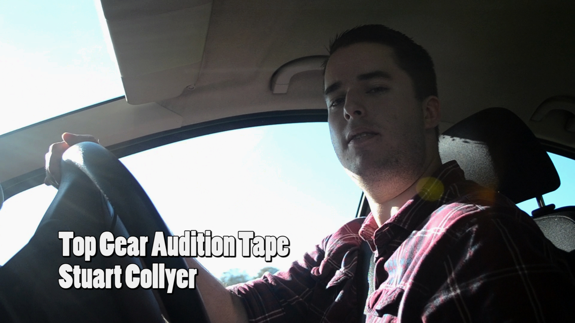 Top Gear Audition Tape Cover