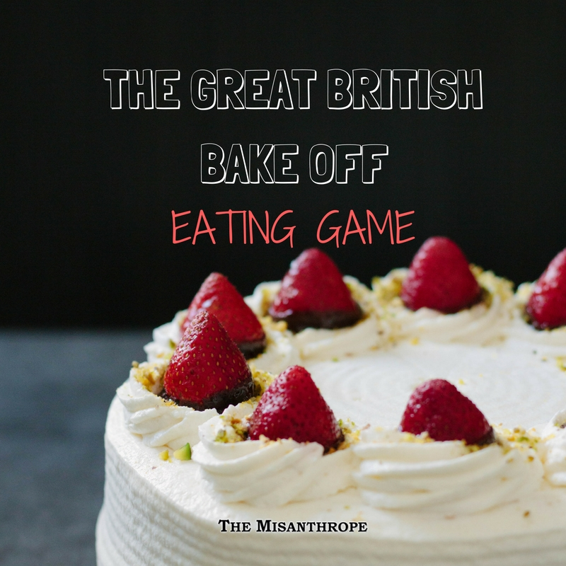 THE GREAT BRITISH BAKE OFF EATING GAME