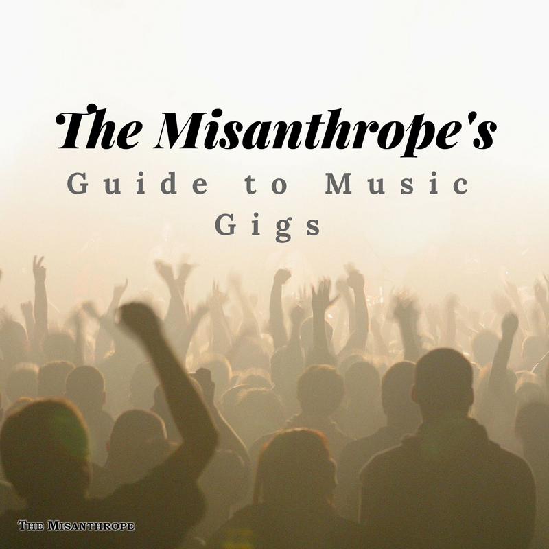The Misanthrope's Guide To Music Gigs