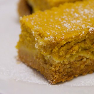 Pumpkin Gooey Bar