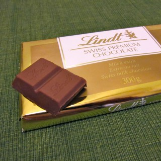 Snack: Swiss Milk Chocolate (Lindt and Trader Joe's)