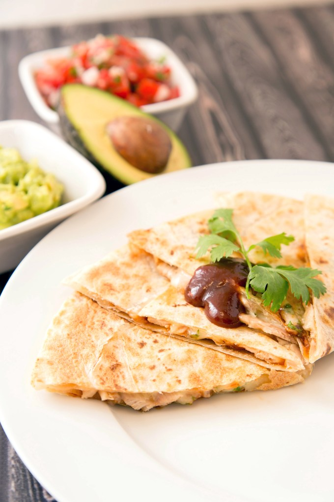 BBQ Chicken Quesadillas 1 | The Missing Lokness