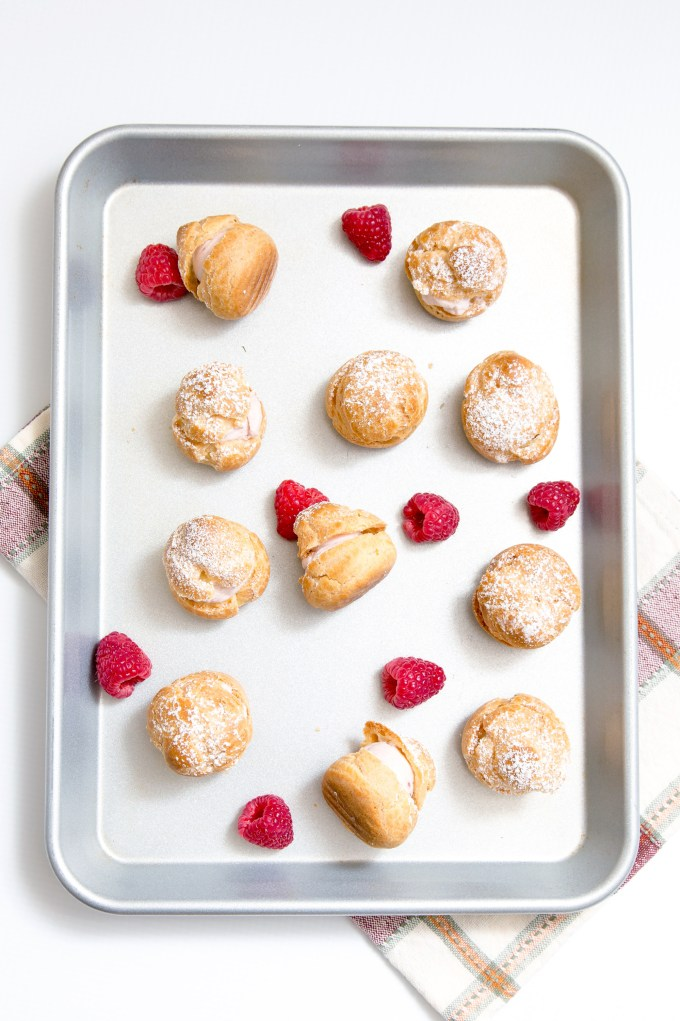 Raspberry Cream Puffs 3 | The Missing Lokness