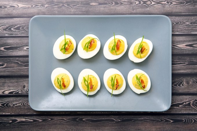 Bacon Deviled Eggs 3| The Missing Lokness