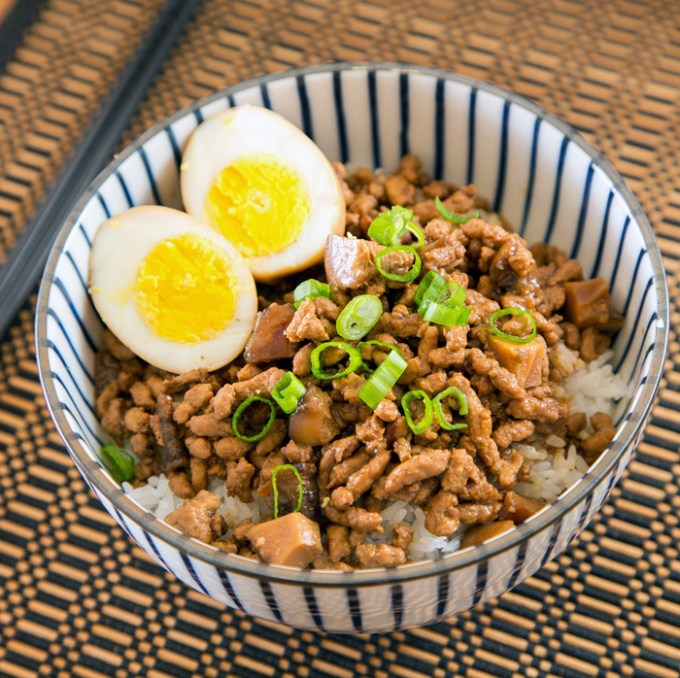 Taiwanese Minced Pork Rice sq