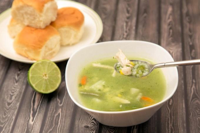 Aguadito de Pollo (Peruvian Chicken and Cilantro Soup) 1 | The Missing Lokness