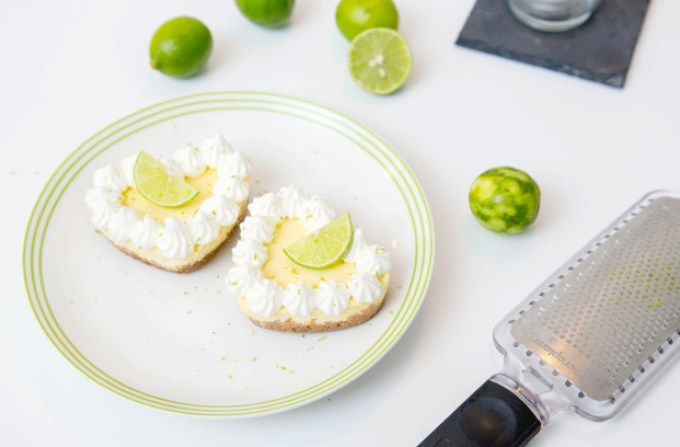 Individual Key Lime Cheesecakes 1 | The Missing Lokness