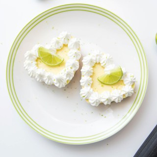 Individual Key Lime Cheesecakes
