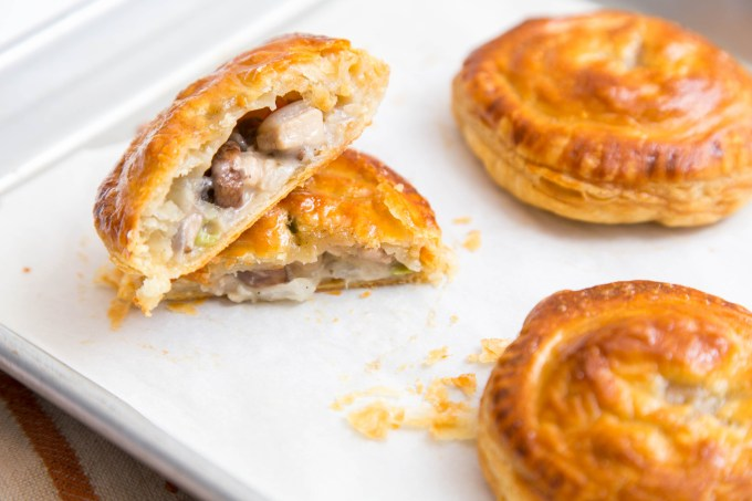 Mushroom and Chicken Hand Pies 2| The Missing Lokness