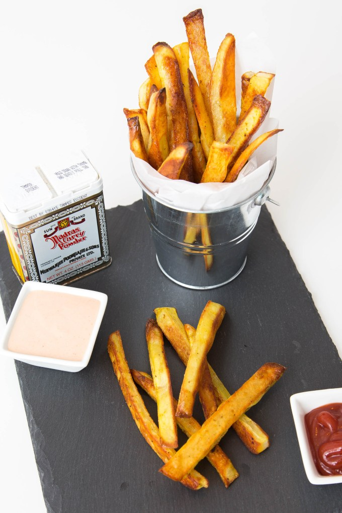 Baked Madras Curry French Fries 2 | The Missing Lokness