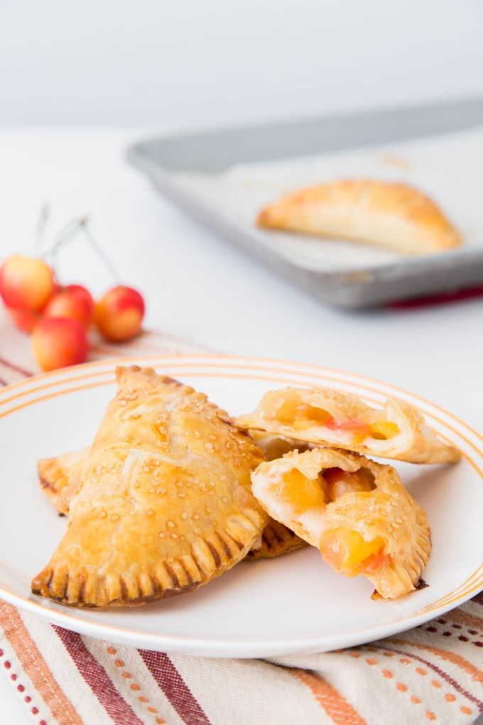 Rainier Cherry Cream Cheese Hand Pies 1| The Missing Lokness